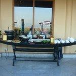 terrasse petit dejeuner