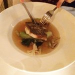 Wild Black Bass with Miso Consomme