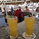 margaritas at happy hour