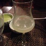 First time I try Pisco Sour. Yuuuuuum!