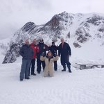 Our crew on February 15th 2014- Nathan was our amazing guide!