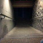 Des couloirs glacials pour l'accès aux chambres ...