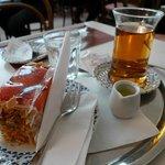 Tea & cake at Heiner's