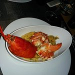 Lobster with pasta