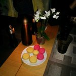 Complimentary Macroons