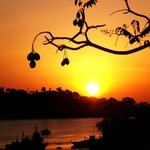 Sunset froim the terrace