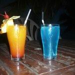 Cocktail offert pour notre voyage de noce