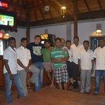 friendly staff of Panchi Villa,January 2014