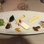 My favorite desert, a cheese plate that was delicious.
