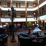 Atrium of Oberoi Cecil Hotel
