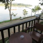 View of Mekong from the balcony