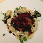 Pork Tenderloin with Blue Cheese Gnocchi = to die for!