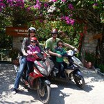 Motor scooter tour impressions