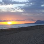 Oliva Beach sunrise