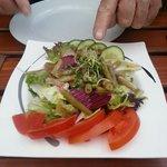 Salat zum Kombiteller