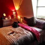 Quirky, colourful and very cosy décor