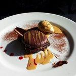 Macaron moelleux et fondant au chocolat