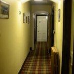 corridor by room 14