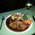 The best Sunday roast in Cheshire.