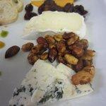 Local artisan cheese tray