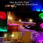 Espace Spa du restaurant Hors Piste