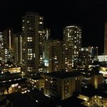 Night view of Honolulu