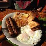 Breakfast plater