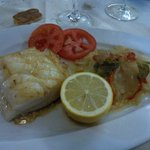 lomo bacalao gallega
