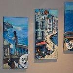 Arte en los pasillos