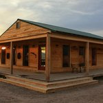 The Red Dog : the center of the ranch where we eat and listen stories and country music