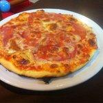 Pizza normalita tirando a mala