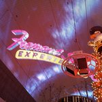 Overhead at the Fremont Street Experience