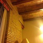 Un dettaglio della nostra camera... i soffitti sono davvero carini.