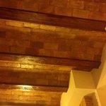 Dettaglio dei soffitti.