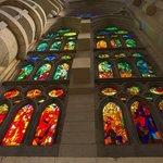 La Sagrada Família window