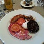 Very good breakfast.