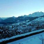 Vue côté Mont Blanc