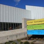 External facade of Turner Contemporary gallery