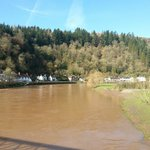 The River Wye in Flood. Within easy walking distance(5mins) from the hotel.