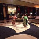 The Thai dancers