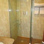 2nd room bathroom, door not opening due to toilet in the way