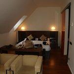 Habitación con salón