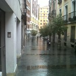 view from hotel street , very close to gran via