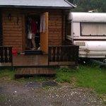Our cabin/camper
