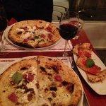The Pistacchio e salsicce, Noci e porcini & the Schiacciatina rossa