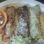 Trio burritos