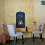 Monarch Room fireplace