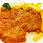 Wiener Schnitzel mit Berner frites