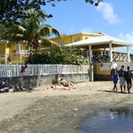 Paradise Beach Hotel from beach