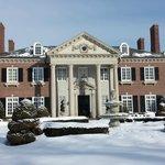Glen Cove Mansion in Winter